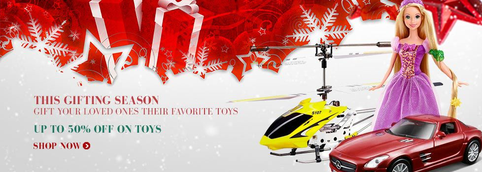 Upto 50% Off On Toys