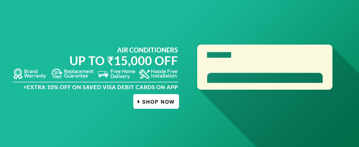 Upto 15,000/- Off on Air Conditioners