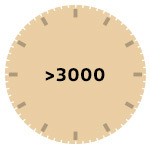 3000 and Above