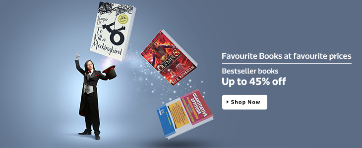 Favourite Books at favourite Prices | Bestseller Books Up to 45% OFF