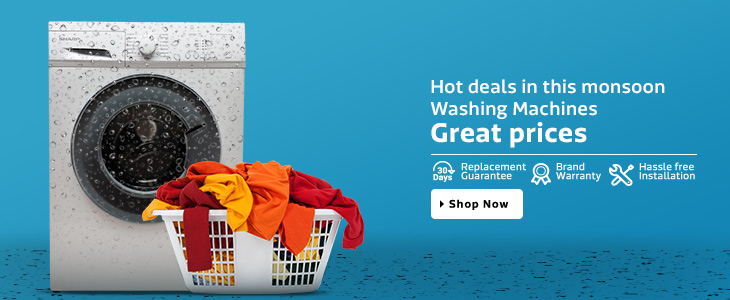 Great Deal In Washing Machine With Great Price Upto 30% Discount