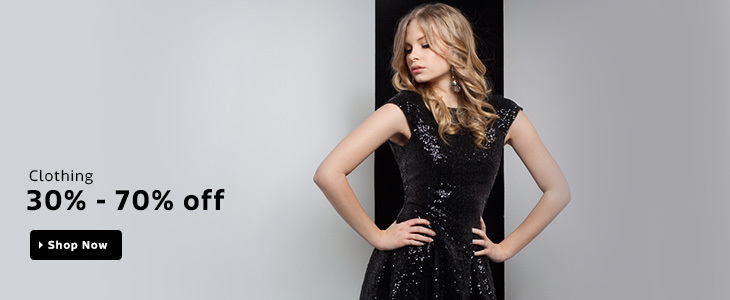 30% to 70% OFF on Women's Clothing