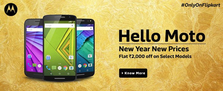 Get Flat Rs.2000 off on Selected Moto Devices for Rs. 5999.0 at Flipkart