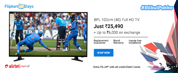 Vu 80cm (32) HD Ready LED TV at Rs 13989 only