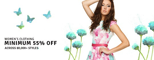 Deals | Women'S Clothing - Minimum 55% Off