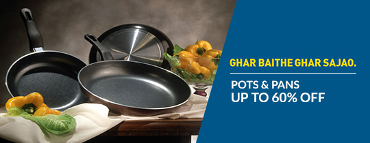 Deals | Up To 60% Off On Pots & Pans