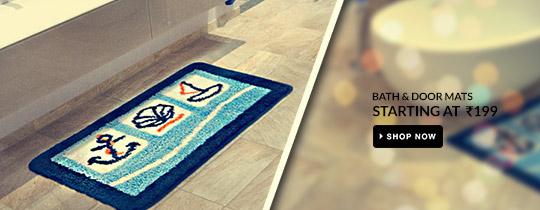 Deals | Bath & Door Mats Starting At Rs.199
