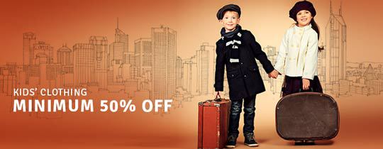 Deals | Kids Clothing - MINMUM 50% OFF