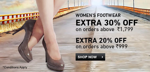 Deals | Womens Footwear - Extra 30% Off