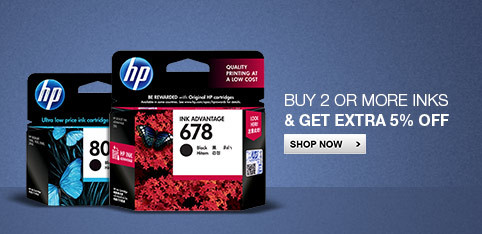 Deals | Buy 2 or more inks & get extra 5% off